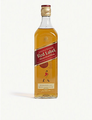 JOHNNIE WALKER: Red Label blended Scotch whisky 700ml