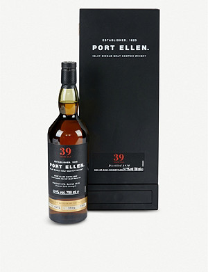 WHISKY AND BOURBON Port Ellen 39 year-old single malt whisky 700ml