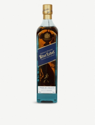 JOHNNIE WALKER Blue Label Year of the Pig blended Scotch whisky 700ml