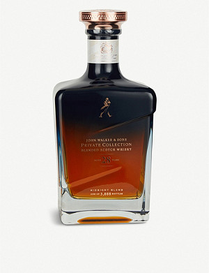JOHNNIE WALKER Private Collection The Midnight Blend 28-year-old blended Scotch whisky 700ml
