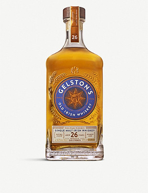 IRISH WHISKY Gelston's Single Malt Irish Whisky 700ml