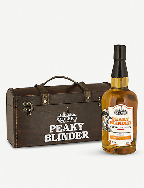 WHISKY AND BOURBON: Peaky Blinders bourbon whiskey 700ml