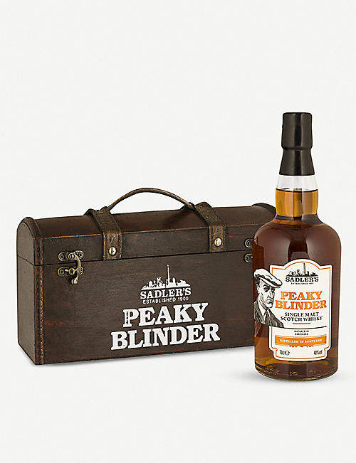 WHISKY AND BOURBON: Peaky Blinders single malt whisky 700ml