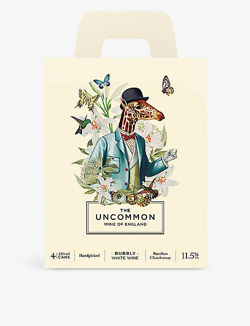 THE UNCOMMON The Uncommon sparkling wine pack of four 250ml