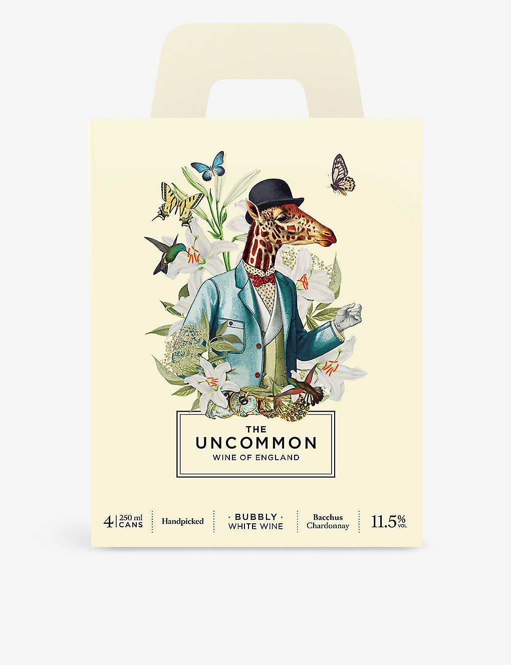 THE UNCOMMON: The Uncommon sparkling wine pack of four 250ml