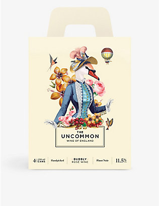 THE UNCOMMON: The Uncommon sparkling rosé pack of four 250ml