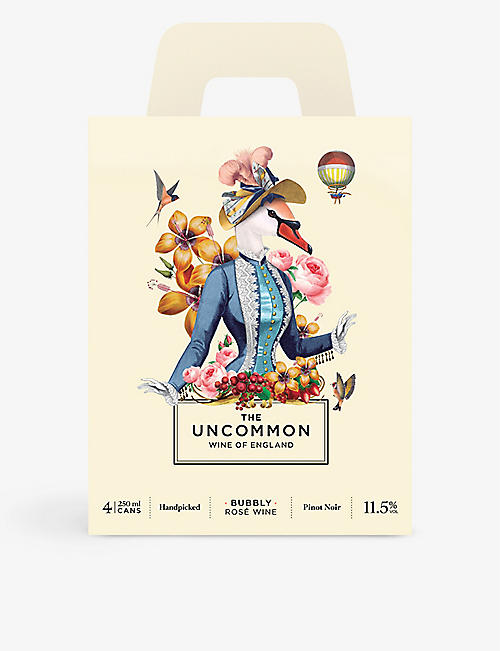 THE UNCOMMON The Uncommon sparkling rosé pack of four 250ml