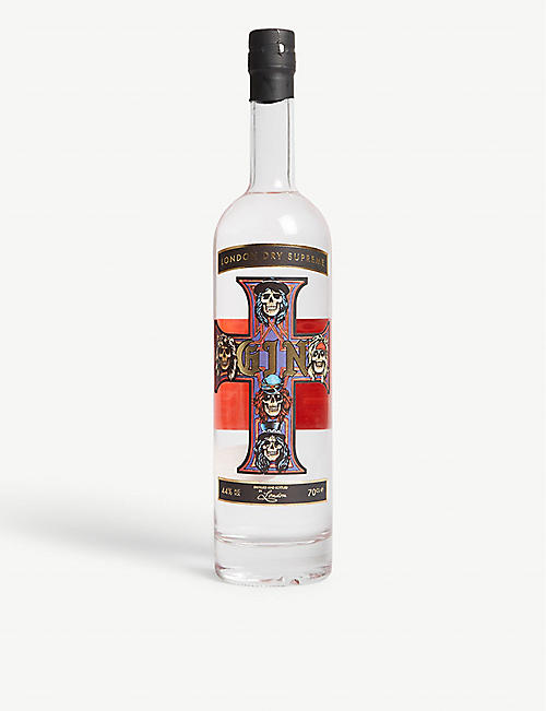 GOLDY GIN Guns N' Roses x Goldy Gin London Dry Supreme gin 700ml