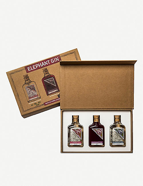 MINI A TURE: Elephant gin gift pack 3 x 50ml