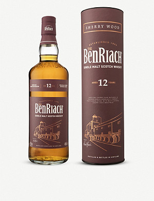 WHISKY AND BOURBON BenRiach 12-year-old single malt Scotch whisky 700ml