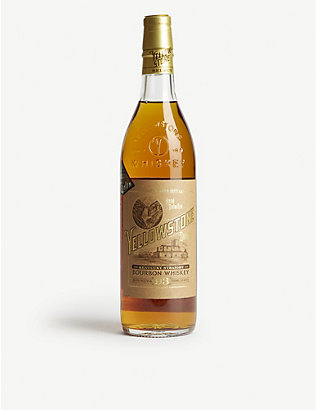 WHISKY AND BOURBON: Limestone Branch Yellowstone Select bourbon whisky 700ml