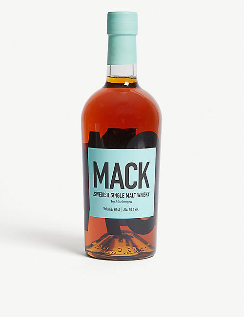 WORLD WHISKEY: Mackmyra Mack Swedish single malt whisky 700ml