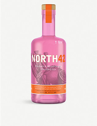 GIN: North42 Rhubarb and Blood Orange Gin 700ml