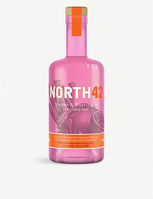 GIN North42 Rhubarb and Blood Orange Gin 700ml
