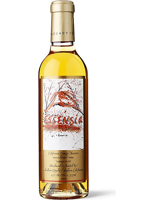 QUADY Essencia orange muscat dessert wine 375ml