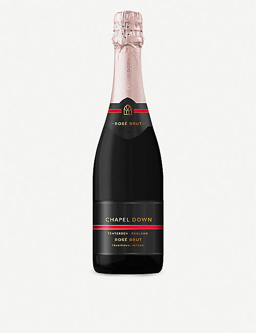 CHAPEL DOWN: Rosé Brut NV English sparkling pinot noir 750ml