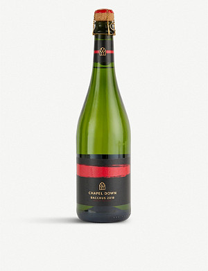 CHAPEL DOWN Bacchus 2018 sparkling wine 750ml