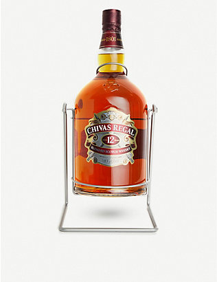 CHIVAS REGAL: 12-year-old blended Scotch whisky 4.5l
