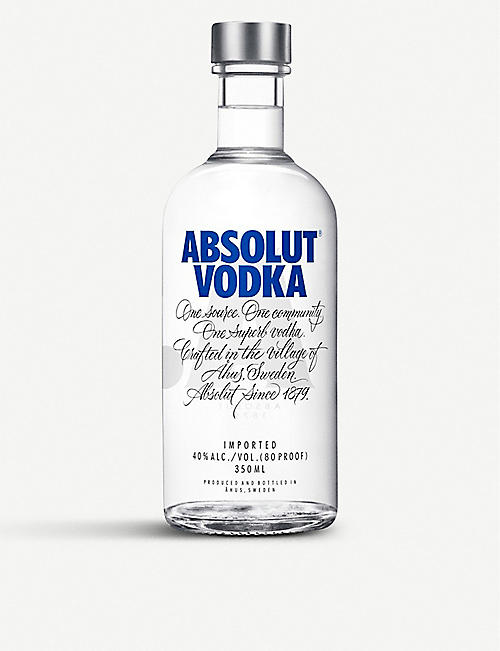 ABSOLUT: Absolut Vodka 350ml