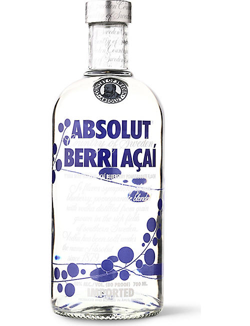 ABSOLUT: Berri Acai vodka 700ml
