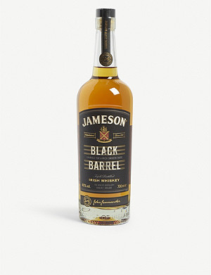 JAMESON Select Reserve Black Barrel triple-distilled Irish whiskey 700ml