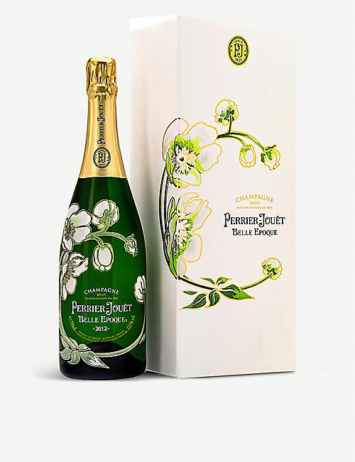 PERRIER JOUET: Belle Epoque Brut champagne vintage gift box 750ml