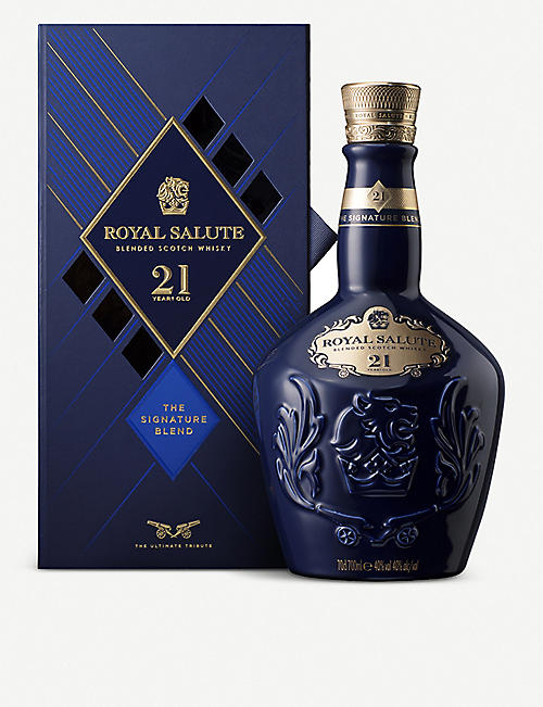 CHIVAS REGAL: 21 year old Scotch whisky 700ml