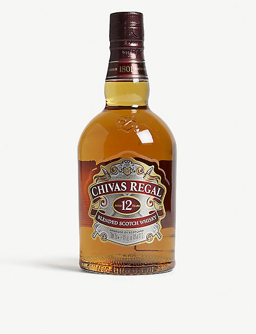CHIVAS REGAL: 12 year old Scotch whiskey 700ml