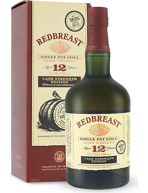 REDBREAST 12 year old cask strength edition 700ml