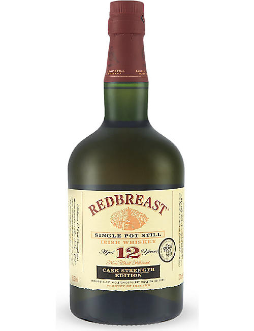 REDBREAST: 12 year old cask strength edition 700ml