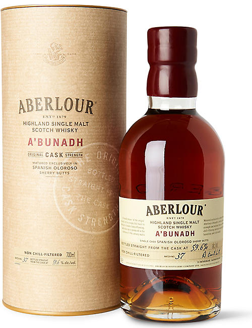 ABERLOUR: A'bunadh single malt Scotch whisky 700ml