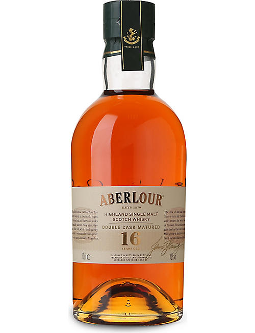 ABERLOUR: Highland 16-year-old single malt Scotch whisky 700ml