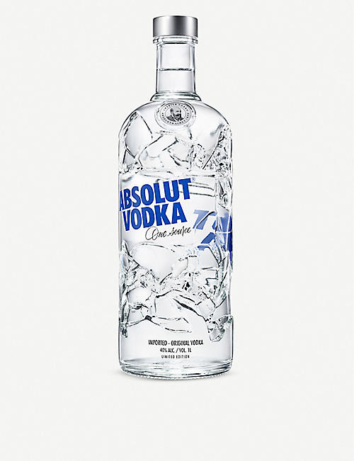 ABSOLUT Limited Edition recycled vodka 700ml