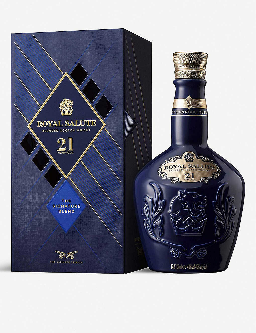 CHIVAS REGAL: Royal Salute 21-year-old blended Scotch whisky 700ml