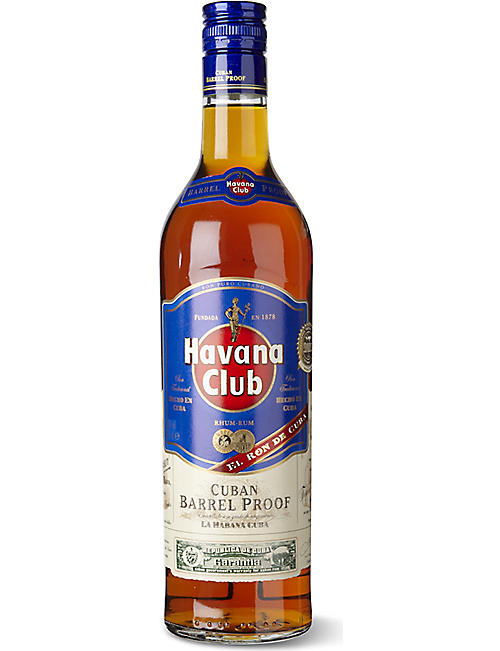 HAVANA: Barrel proof rum 700ml