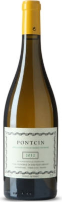 FRANCE Pontcin white wine 750ml