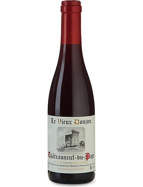 RHONE: Vieux Donjon Chateauneuf-du-Pape red wine 375ml