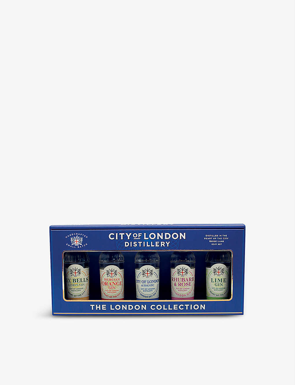 GIN: City Of London Gin taster selection 5 x 50ml