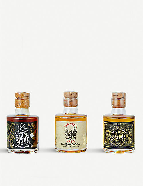RUM Pirate's Grog rum miniatures set of three