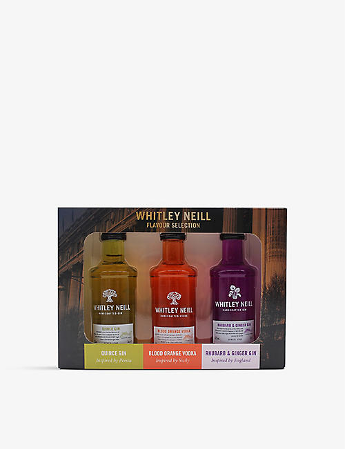 WHITLEY NEILL: Whitley Neill vodka and gin miniature gift set