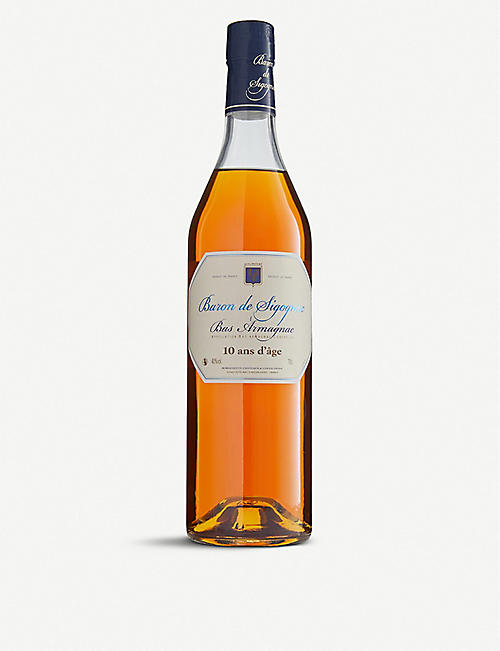 BARON DE SIGOGNAC: Ten-year-old Armagnac 700ml