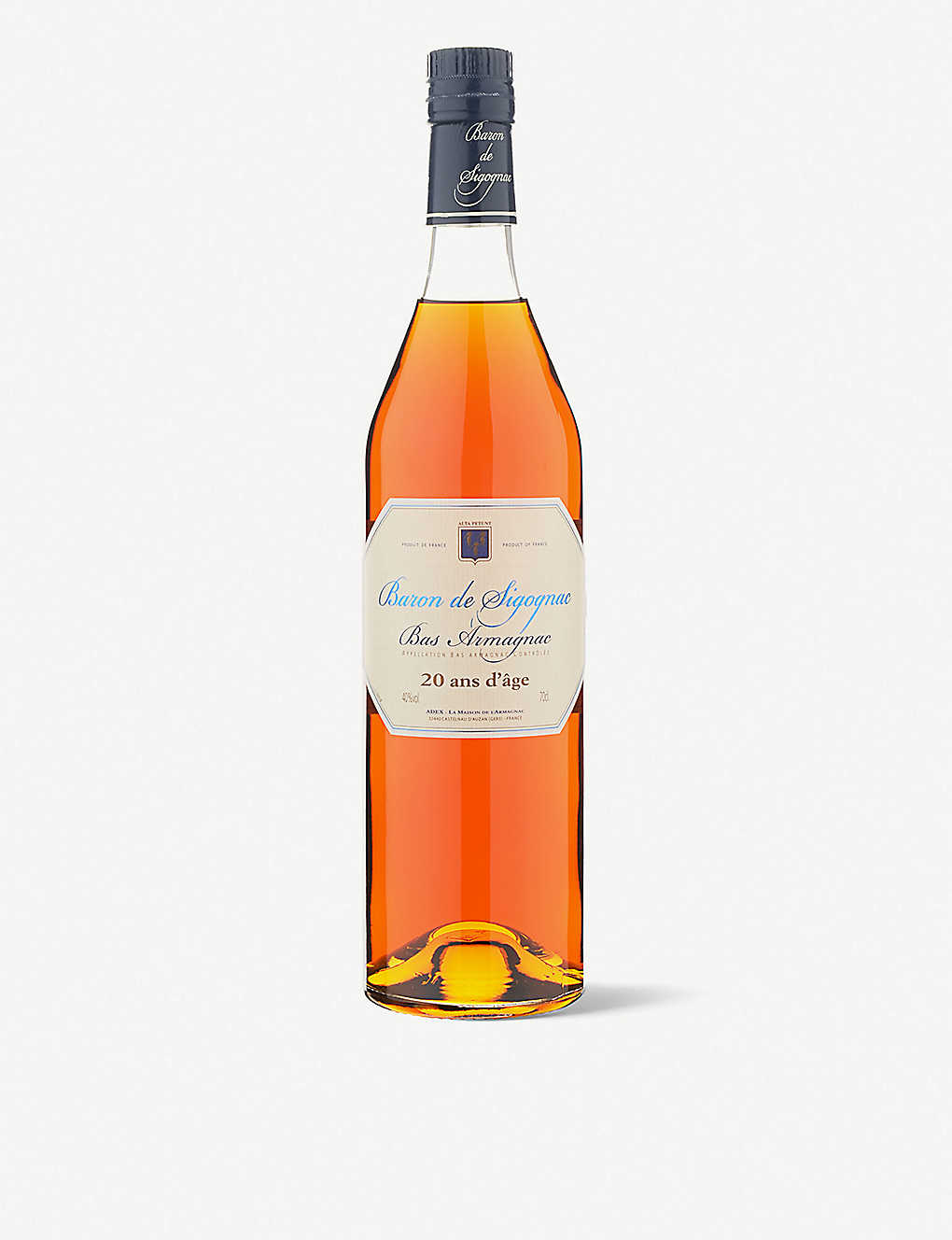 BARON DE SIGOGNAC: 20 year old 700ml