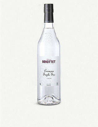BRIOTTET: Curaçao Triple Sec orange liqueur 700ml