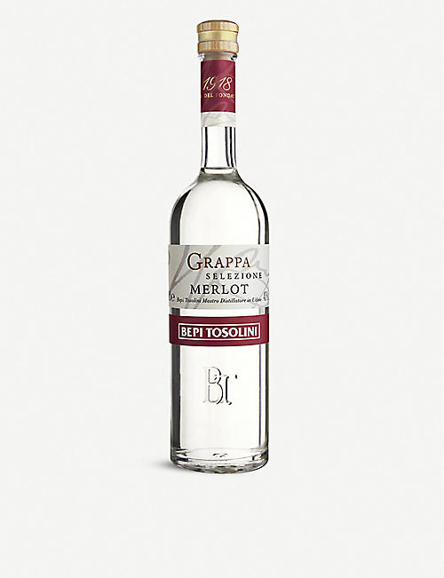 BEPI TOSOLINI: Grappa di Merlot 500ml