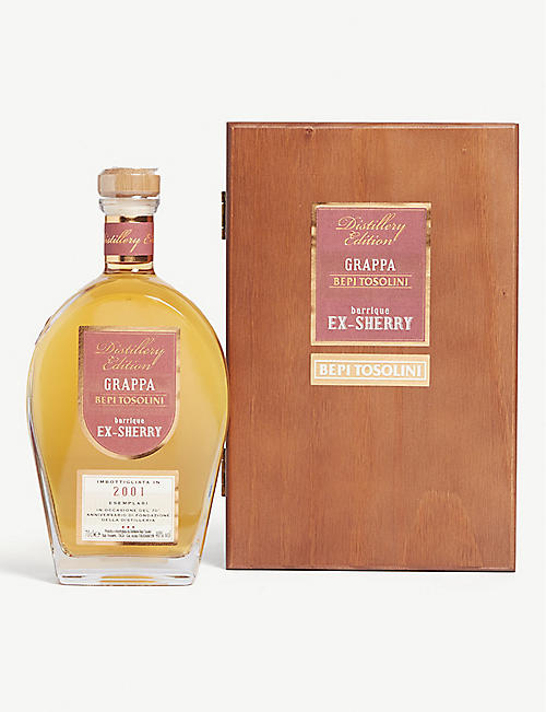 BEPI TOSOLINI Grappa Ex-Sherry 2001 700ml