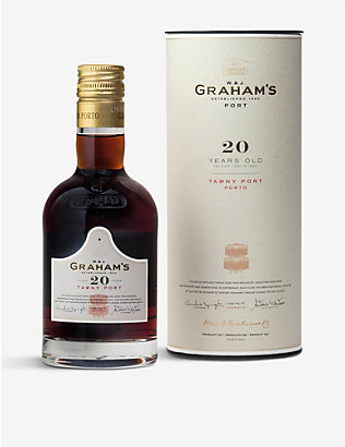 PORTUGAL: Graham's 20 Year old Tawny Port 200ml