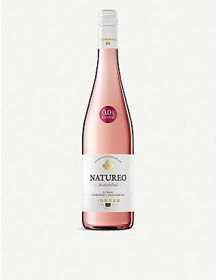 SPAIN: Torres Natureo de-alcoholised rosé wine 750ml