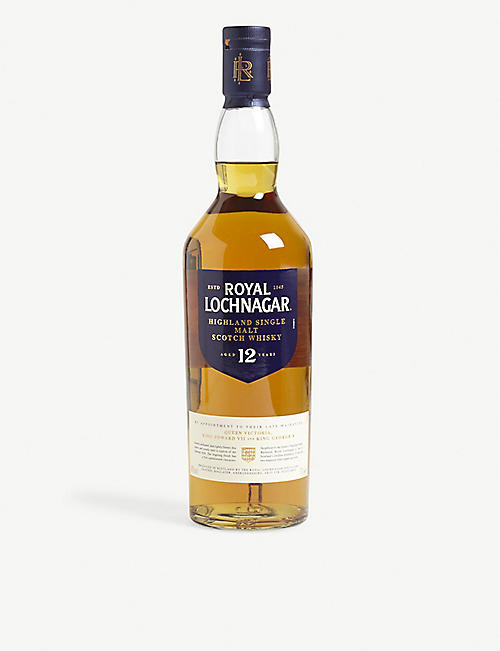 HIGHLAND: 12 year old Highland single malt Scotch whisky 700ml
