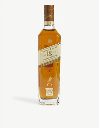 JOHNNIE WALKER: Platinum Label 18-year-old Scotch whisky 700ml