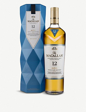 WHISKY AND BOURBON The Macallan Triple Cask 12-year-old single malt Scotch whisky 700ml
